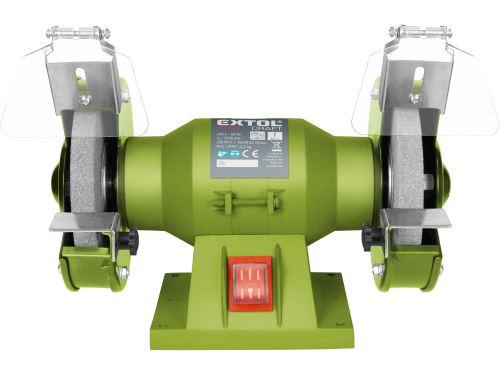 Bruska stolní dvoukotoučová Extol 410120, 150W, 125x12,7x š.16mm, EXTOL CRAFT