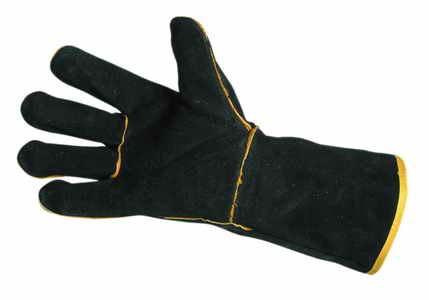 Rukavice Červa SANDPIPER BLACK svářečské, velikost 11