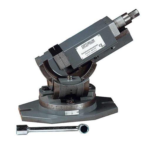 Trojosý otočný svěrák Optimum MV3-125