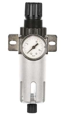 Regulátor tlaku s filtrem Aircraft FDR Ac 1/4, 12 bar