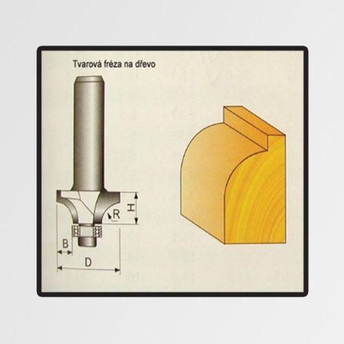 Tvarové fréza Stavtool P70706 do dřeva 9,52x9,5x16mm
