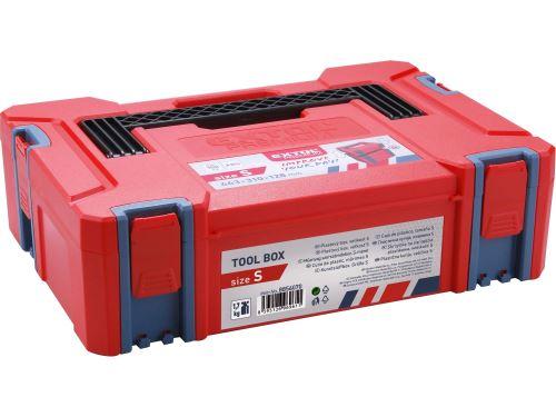 Plastový kufr Extol 8856070, velikost S, rozměr 443x310x128mm