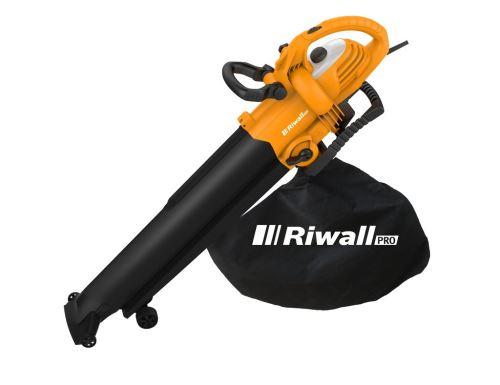 Vysavač na listí Riwall REBV 3000, 3000W, ocelové nože