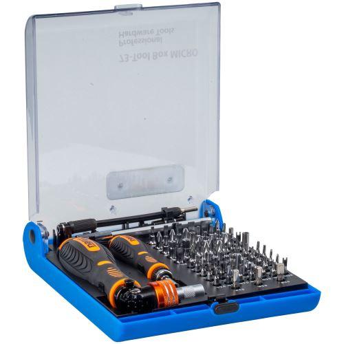 Sada profesionálních šroubovacích nástavců Narex 73-Tool Box Micro