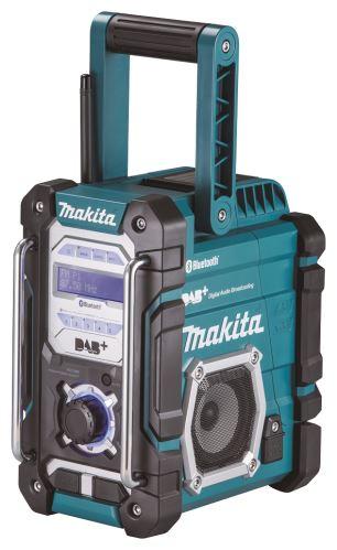 Aku rádio Makita DMR112, DAB s Bluetooth, Li-ion, 7,2V-18V
