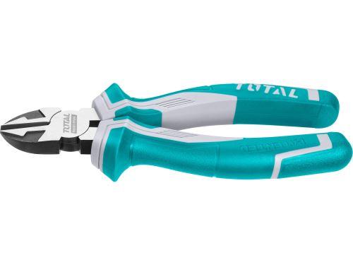 Kleště štípací boční TOTAL THT230706, industrial, 180mm, CrV