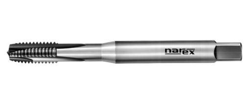 Strojní závitník Narex Ždánice M8x1,25 s přímou drážkou a lamačem, HSSE