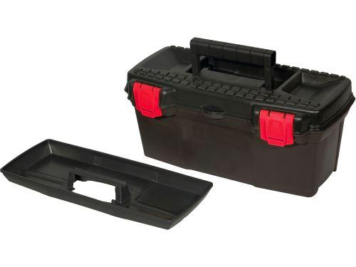 Kufr na nářadí 15 ERGO Extol 78812, 385x190x170mm, plastový