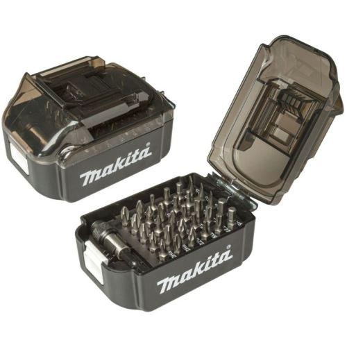 Sada bitů 31ks Makita E-00022 v plastovém obalu (tvar aku baterie)