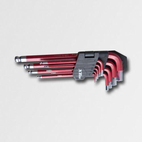 Sada imbusů s kuličkou XTline XT081, 1,5-10mm