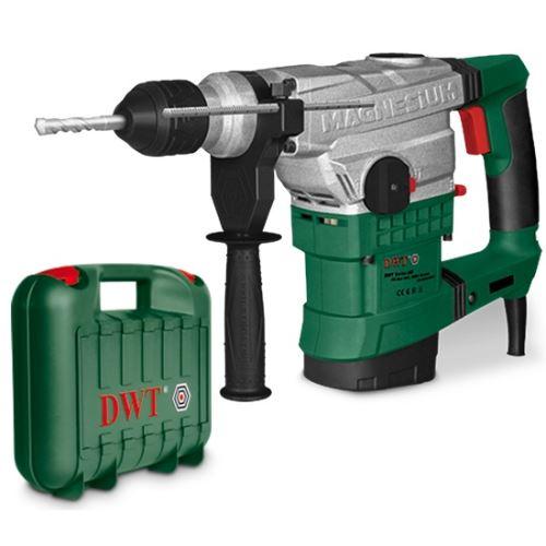 Elektrické vrtací/bourací kladivo DWT BH12-40 V BMC, SDS MAX s regulací otáček v kufru 1250 W