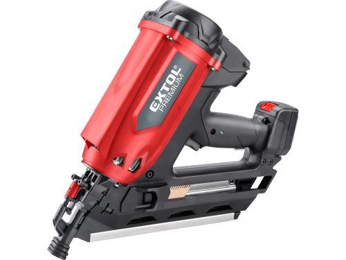 Hřebíkovačka Extol 8894580 na konstrukce, plynová, 50-90mm, kufr
