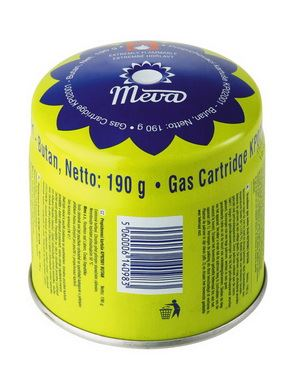 Kartuše Meva KP02001, 190 g - propichovací STOP GAS