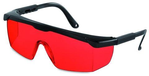 Laserové brýle GeoFennel, červené
