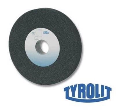 Brusný kotouč Tyrolit 100x20x20mm na kov, 100x20x20mm