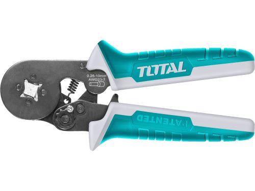 Kleště lisovací na dutinky TOTAL THCPG2510, industrial, 160cm