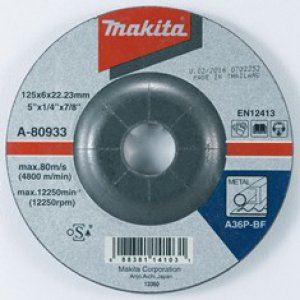 Brusný kotouč Makita A-80933, 125x6x22mm, na ocel