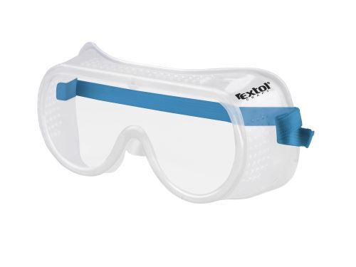 Brýle ochranné Extol, přímo větrané, univerzální velikost