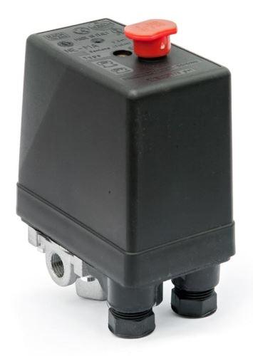 """Tlakový spínač NE-MA 400 V / 12 bar (4x1/4"""")"""